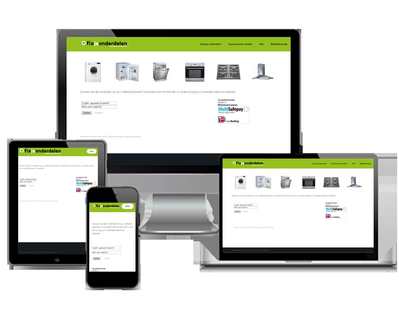 webshop fixjeonderdelen